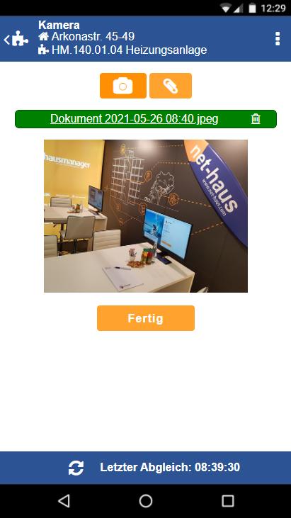 Bilder und Dokumente in der TechnikerApp