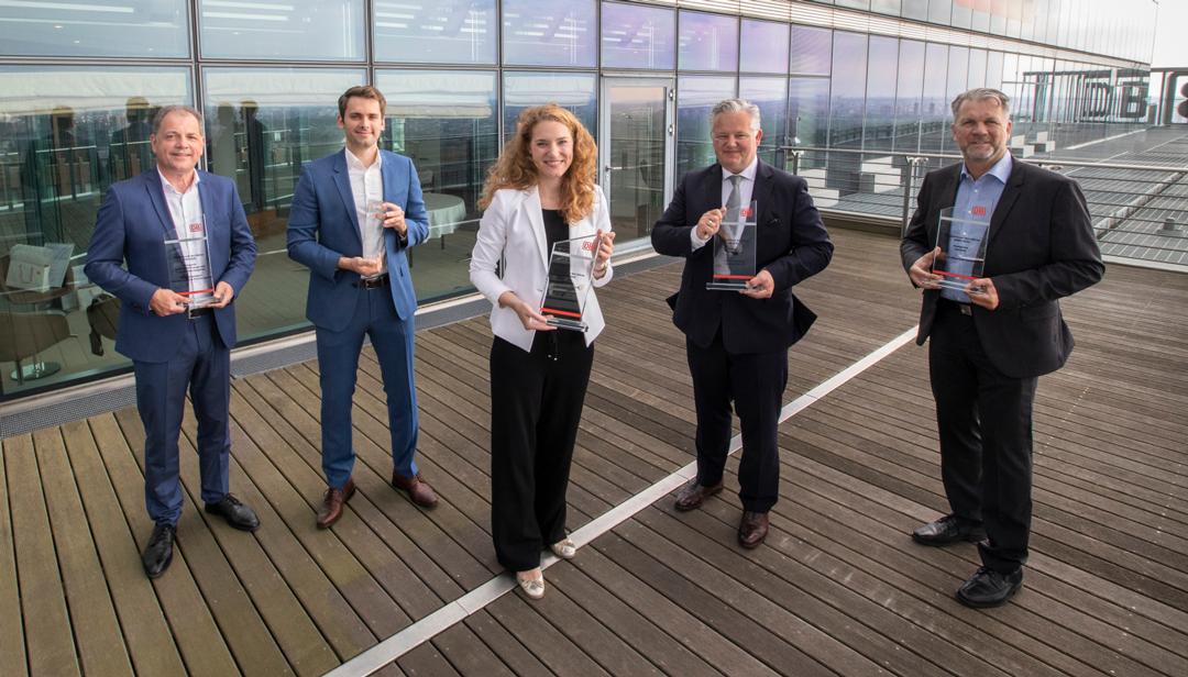 Diesjährige Preisträger des DB Lieferantenprädikats