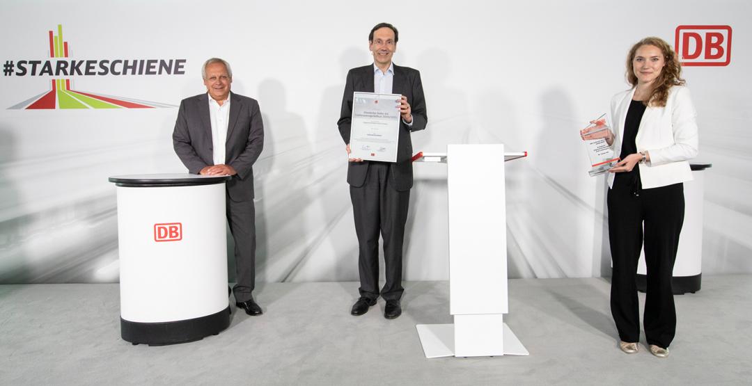 Dr. Sasse AG erhält DB Lieferantenprädikat